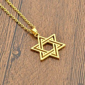 Jewelry - NWOT Gold Star of David Necklace